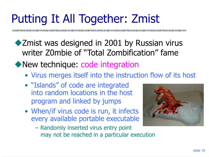 Putting It All Together: Zmist