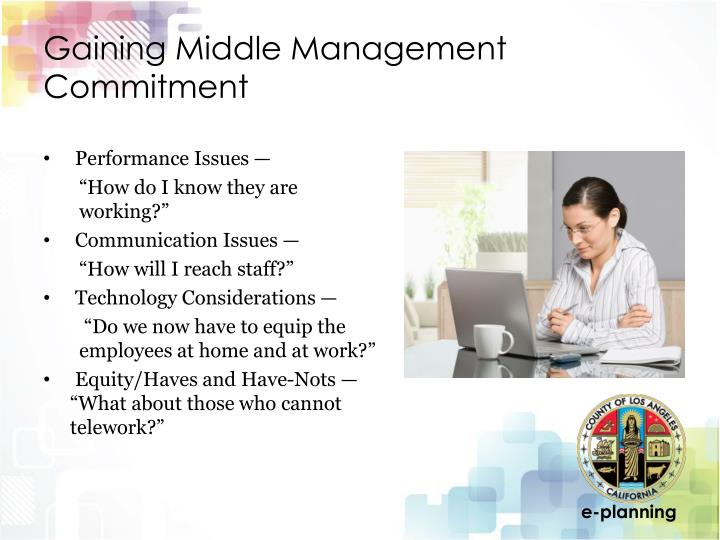 Gaining Middle Management