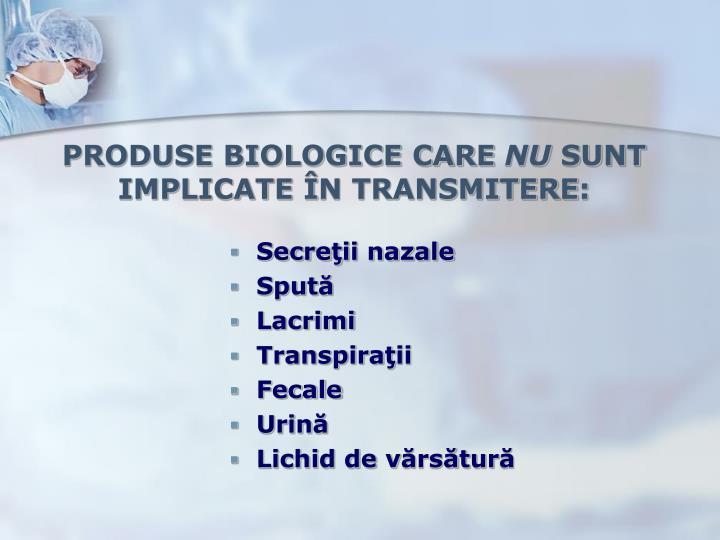 PRODUSE BIOLOGICE CARE