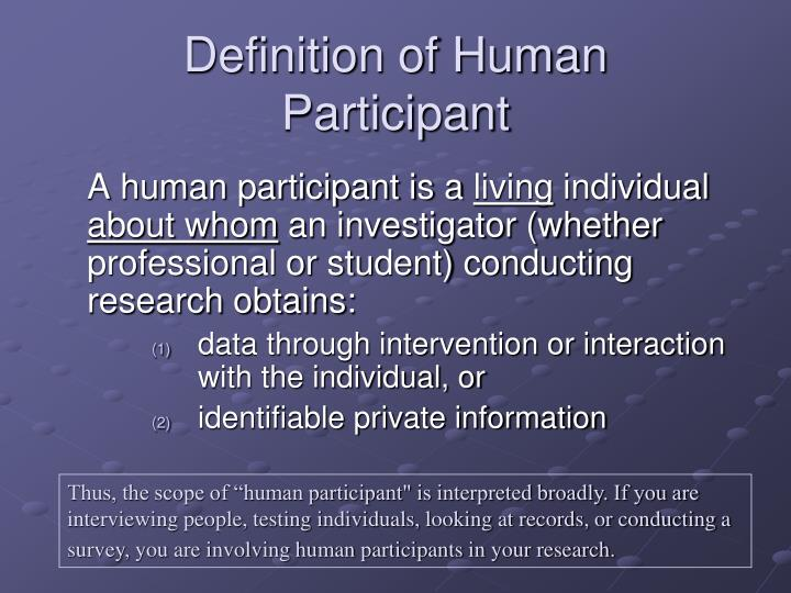 Definition of Human