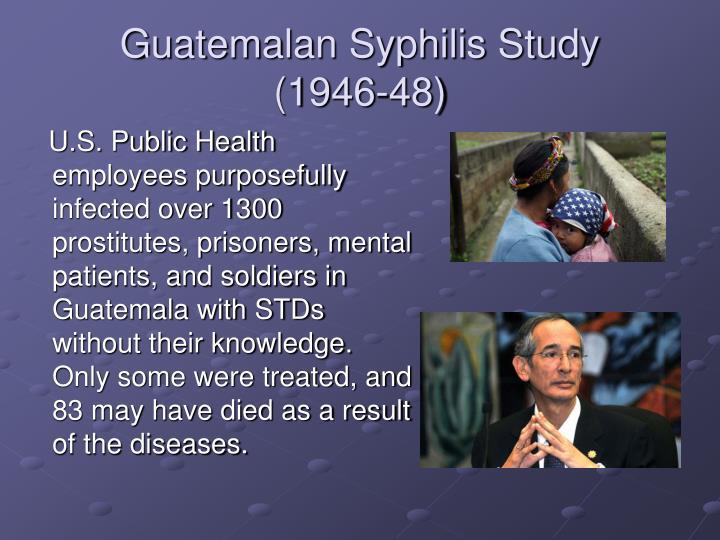 Guatemalan Syphilis Study