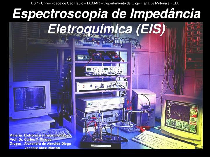 Espectroscopia de imped ncia eletroqu mica eis