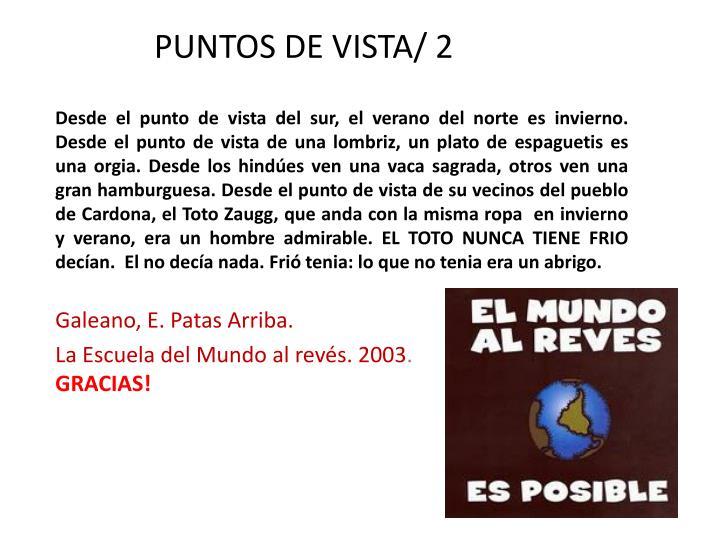 PUNTOS DE VISTA/ 2