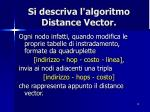 si descriva l algoritmo distance vector1