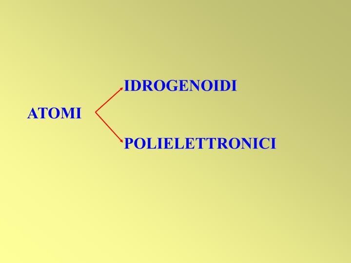 IDROGENOIDI