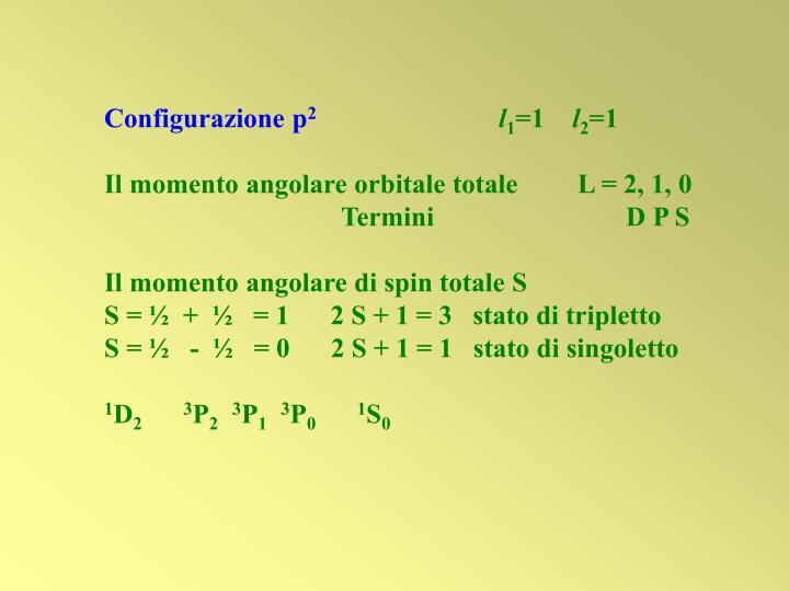 Configurazione p
