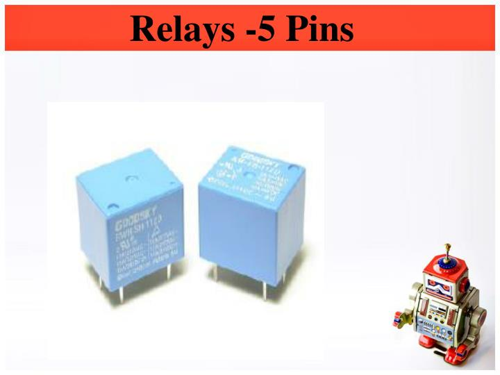 Relays -5 Pins