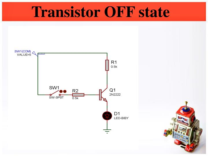 Transistor OFF state