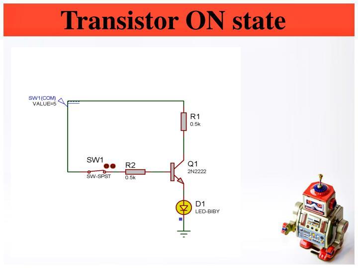 Transistor ON state