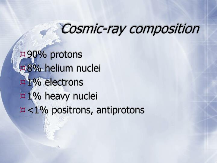 Cosmic-ray composition