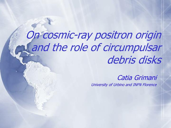 On cosmic ray positron origin and the role of circumpulsar debris disks