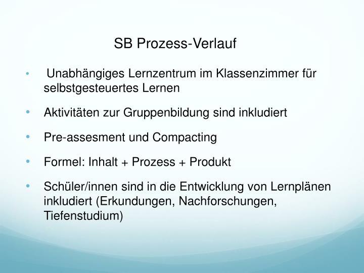 SB Prozess-Verlauf