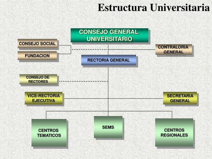 Estructura Universitaria