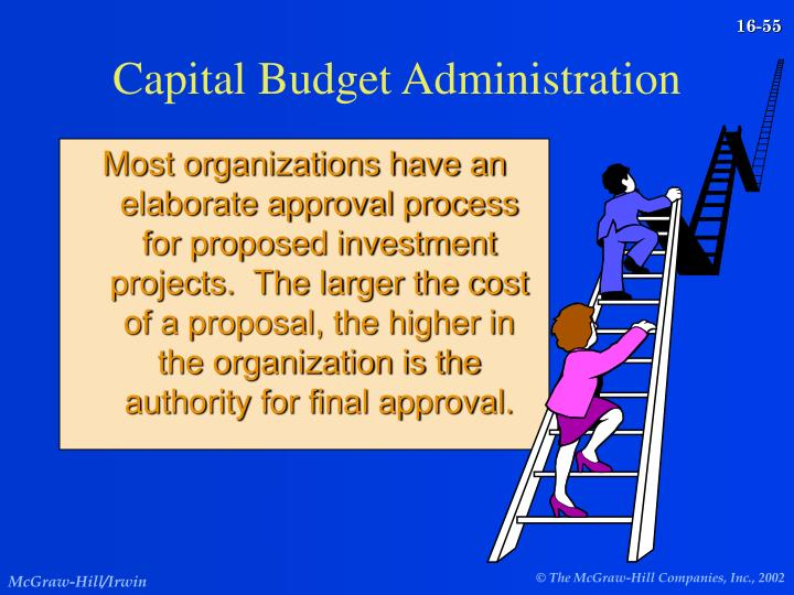 Capital Budget Administration