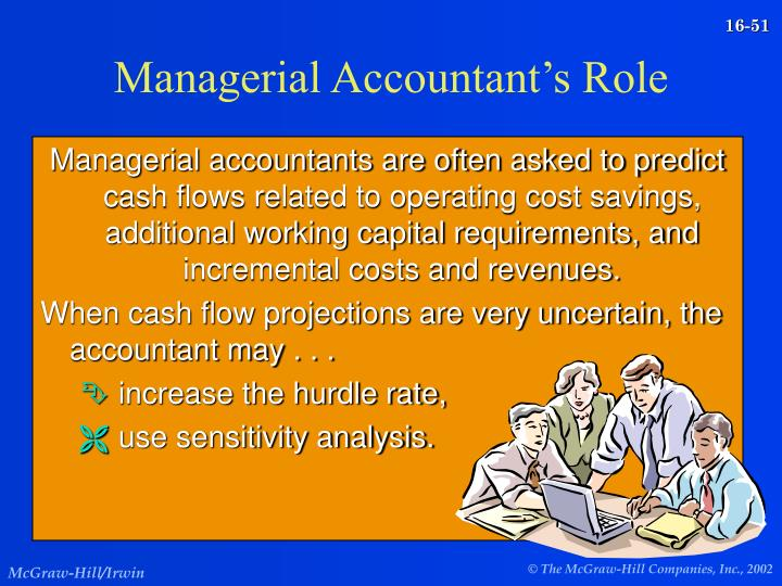Managerial Accountant's Role