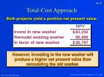 total cost approach4