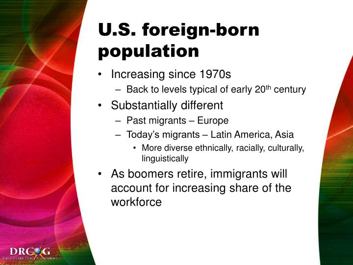 U.S. foreign-born population