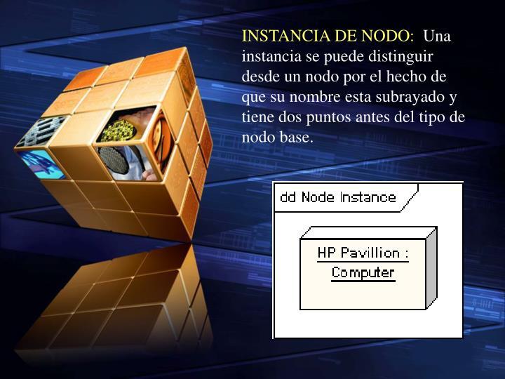 INSTANCIA DE NODO: