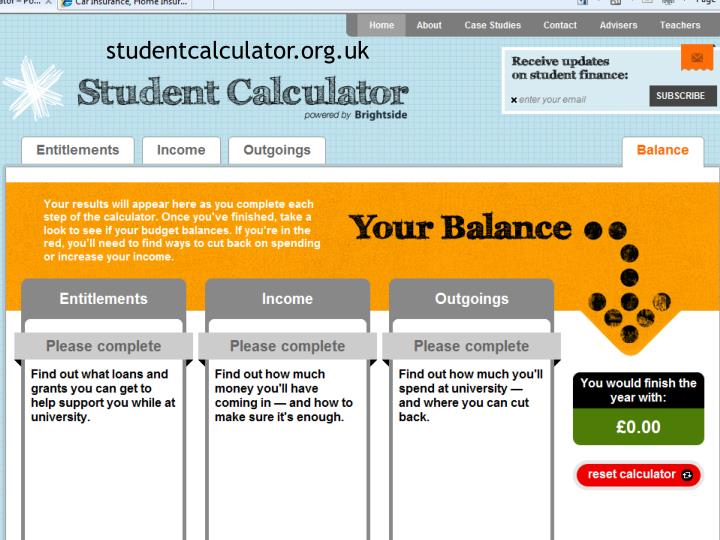 studentcalculator.org.uk