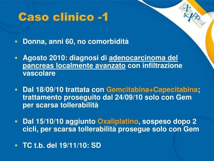 Caso clinico -1