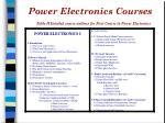 power electronics courses1