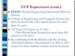 ucf experience cont