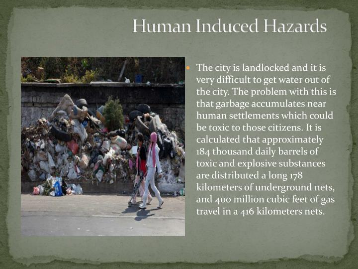 Human Induced Hazards