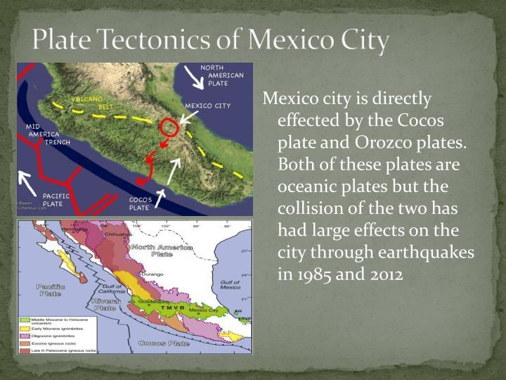 Plate Tectonics of Mexico City