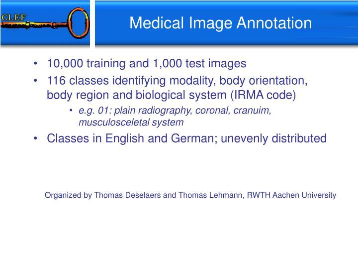 Medical Image Annotation