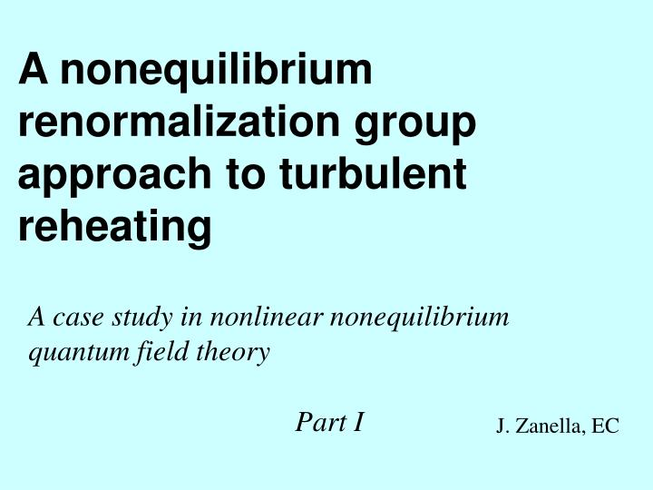 A nonequilibrium renormalization group approach to turbulent reheating