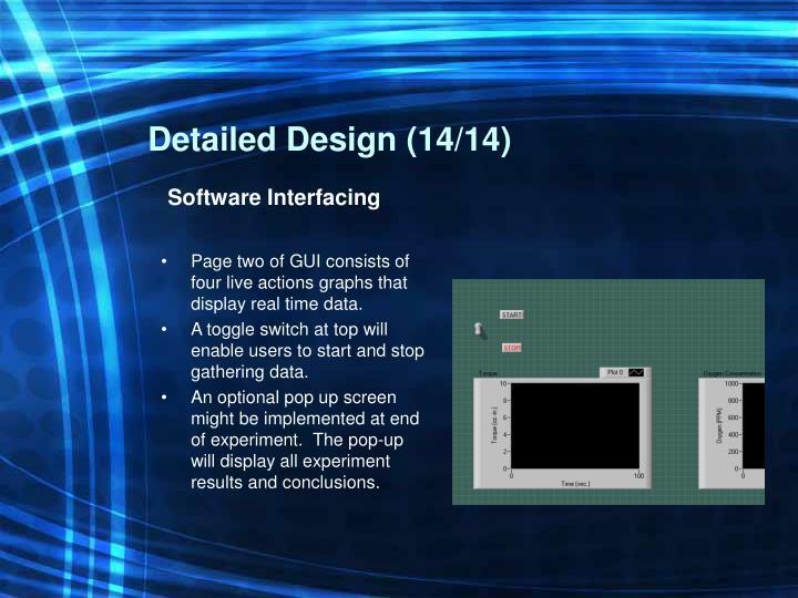 Detailed Design (14/14)