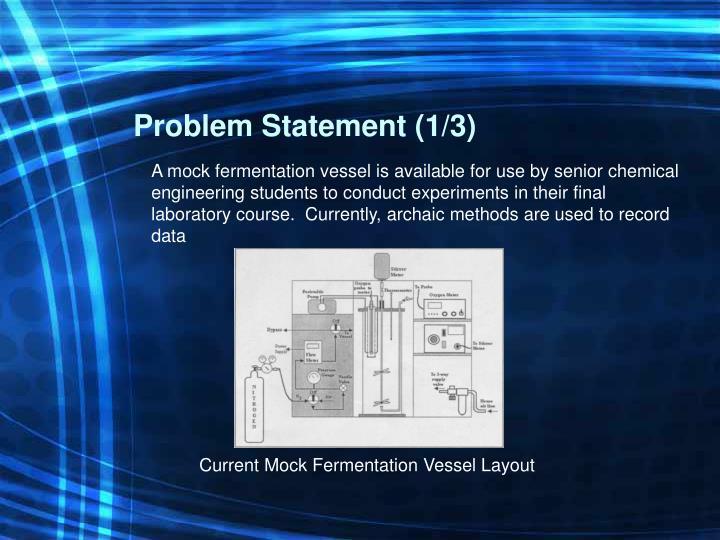 Problem Statement (1/3)