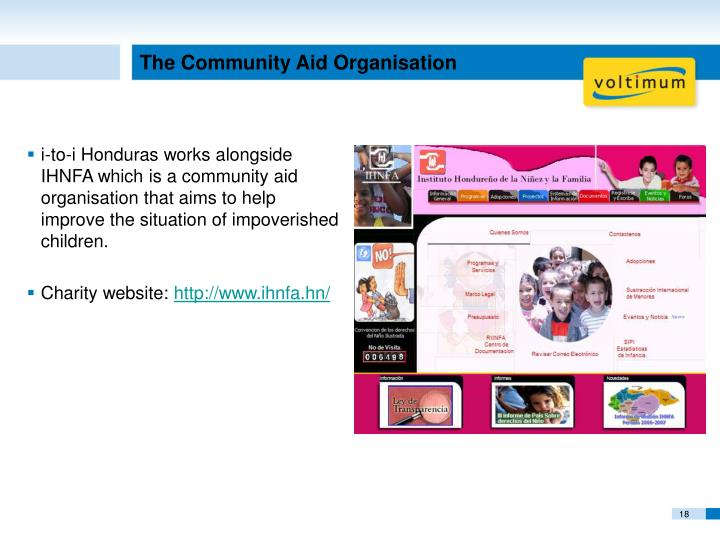 The Community Aid Organisation