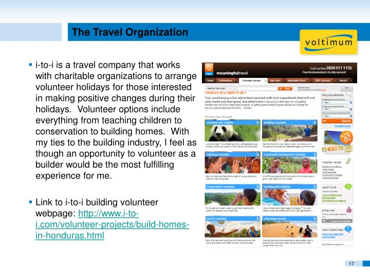 The Travel Organization