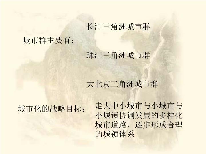 长江三角洲城市群
