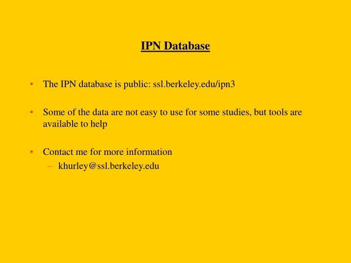 IPN Database