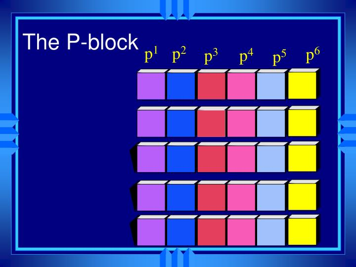 The P-block