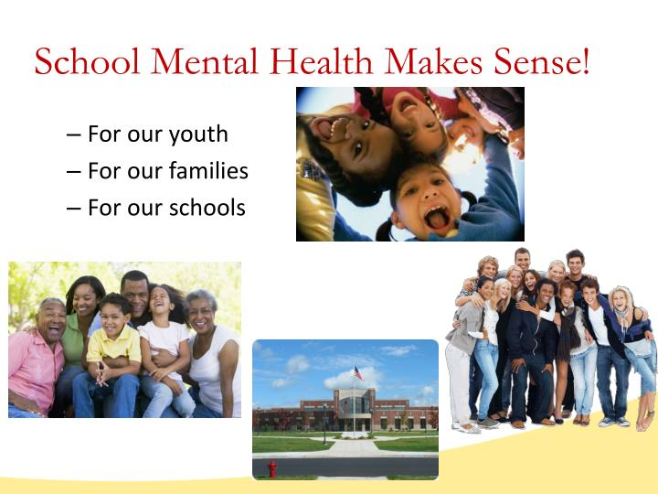 School Mental Health Makes Sense!