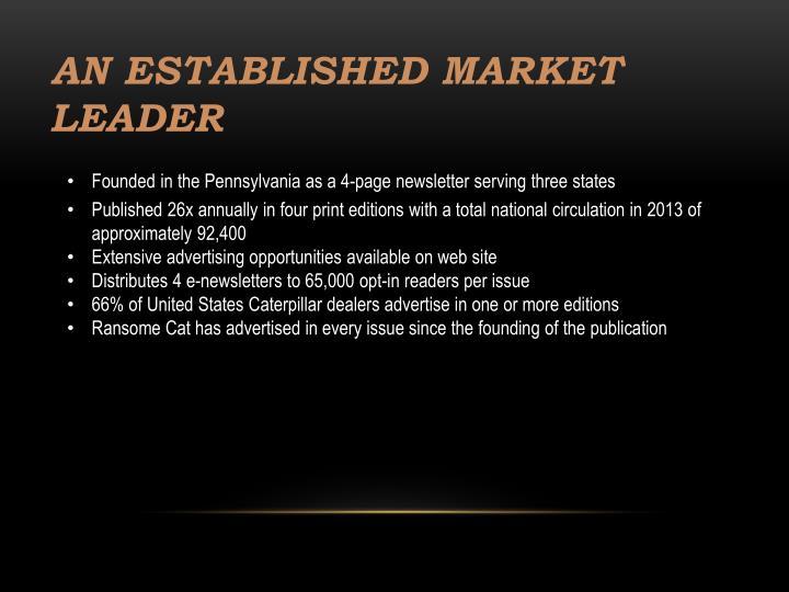 An Established Market Leader