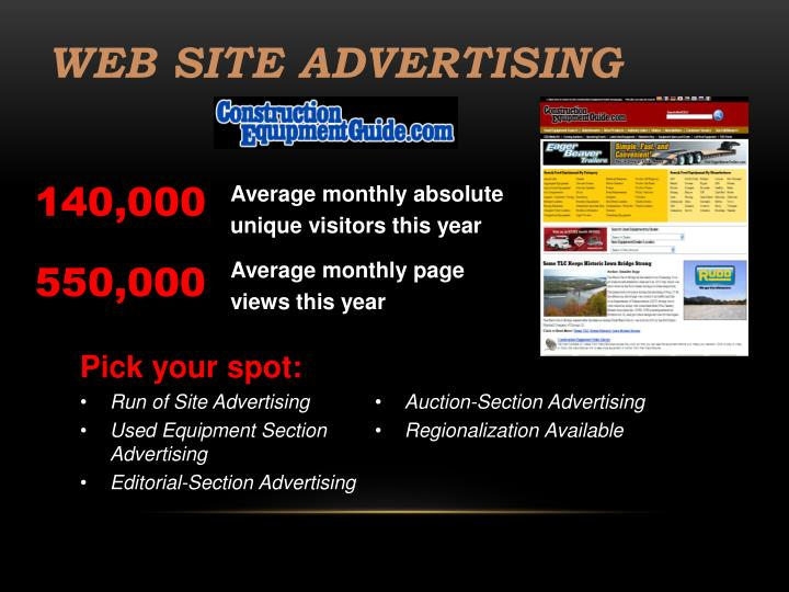Web Site Advertising