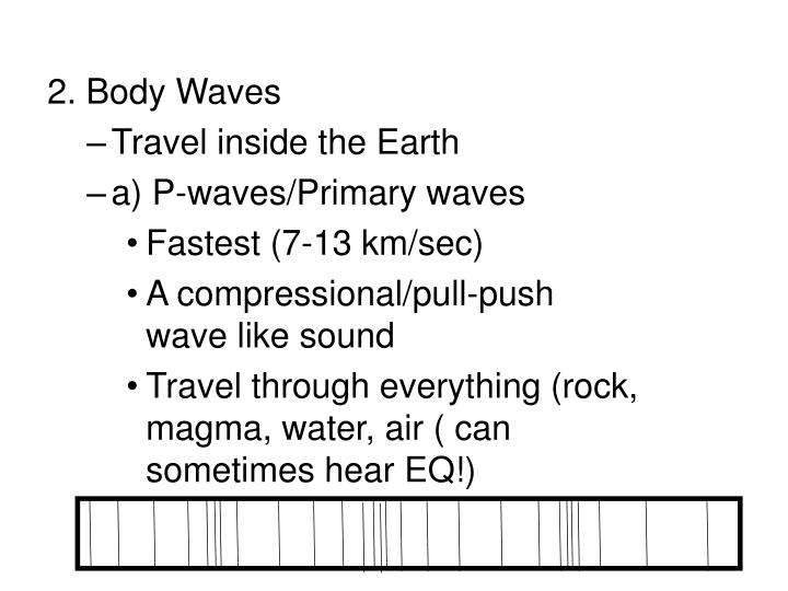 2. Body Waves