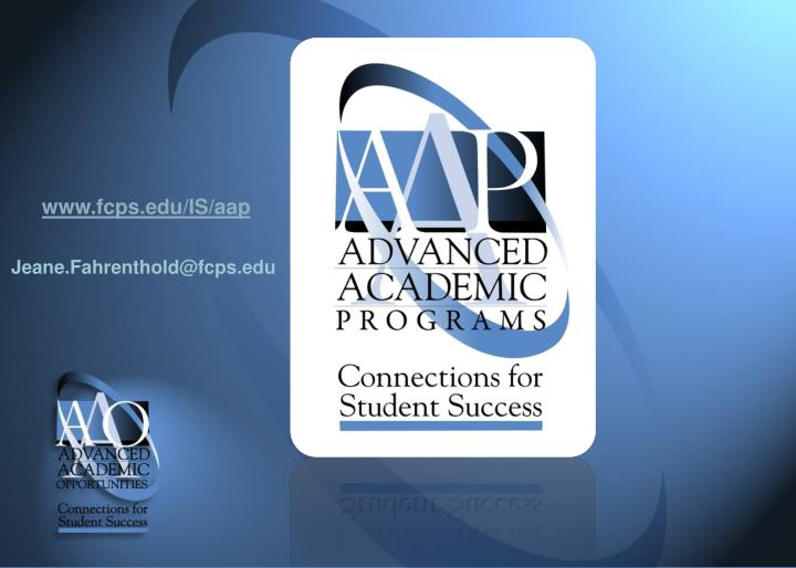 www.fcps.edu/IS/aap