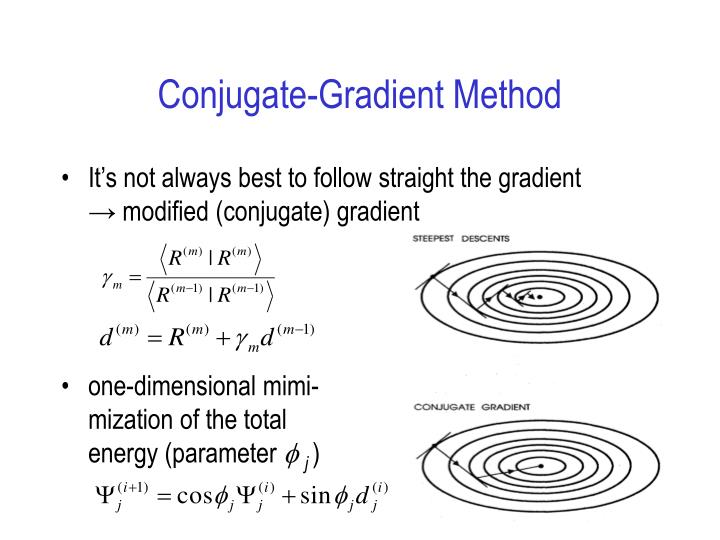 Conjugate-Gradient Method