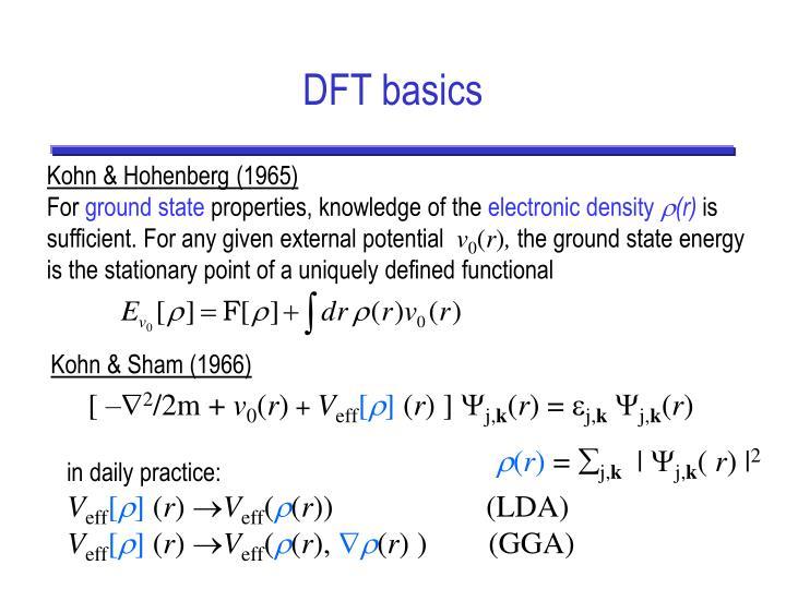 DFT basics