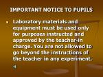 important notice to pupils5