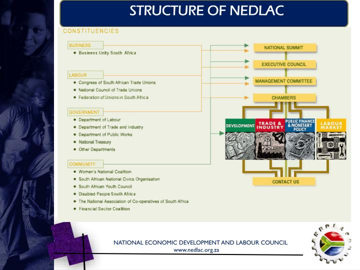 STRUCTURE OF NEDLAC