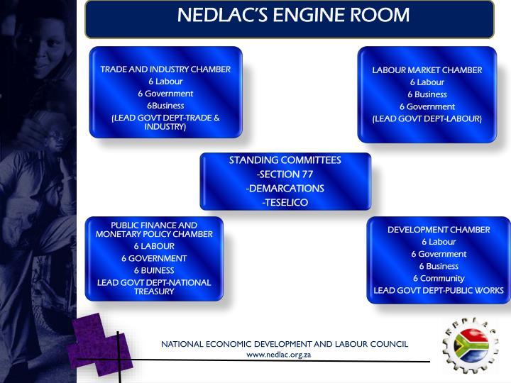 NEDLAC'S ENGINE ROOM