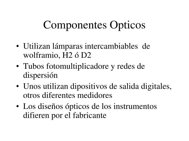 Componentes Opticos