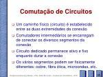 comuta o de circuitos