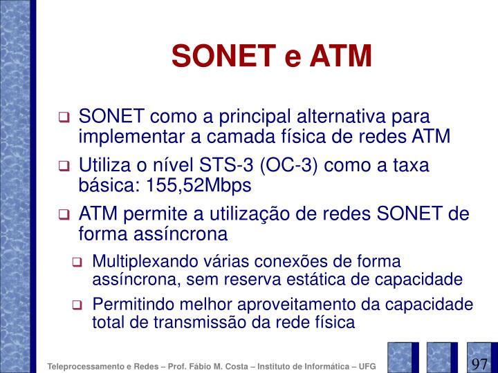 SONET e ATM